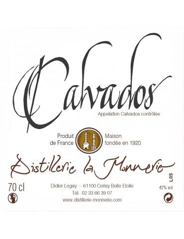 1/2 CALVADOS 5 ANS - LA...