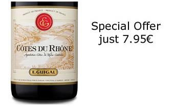 Côtes du Rhône Rouge de E. Guigal